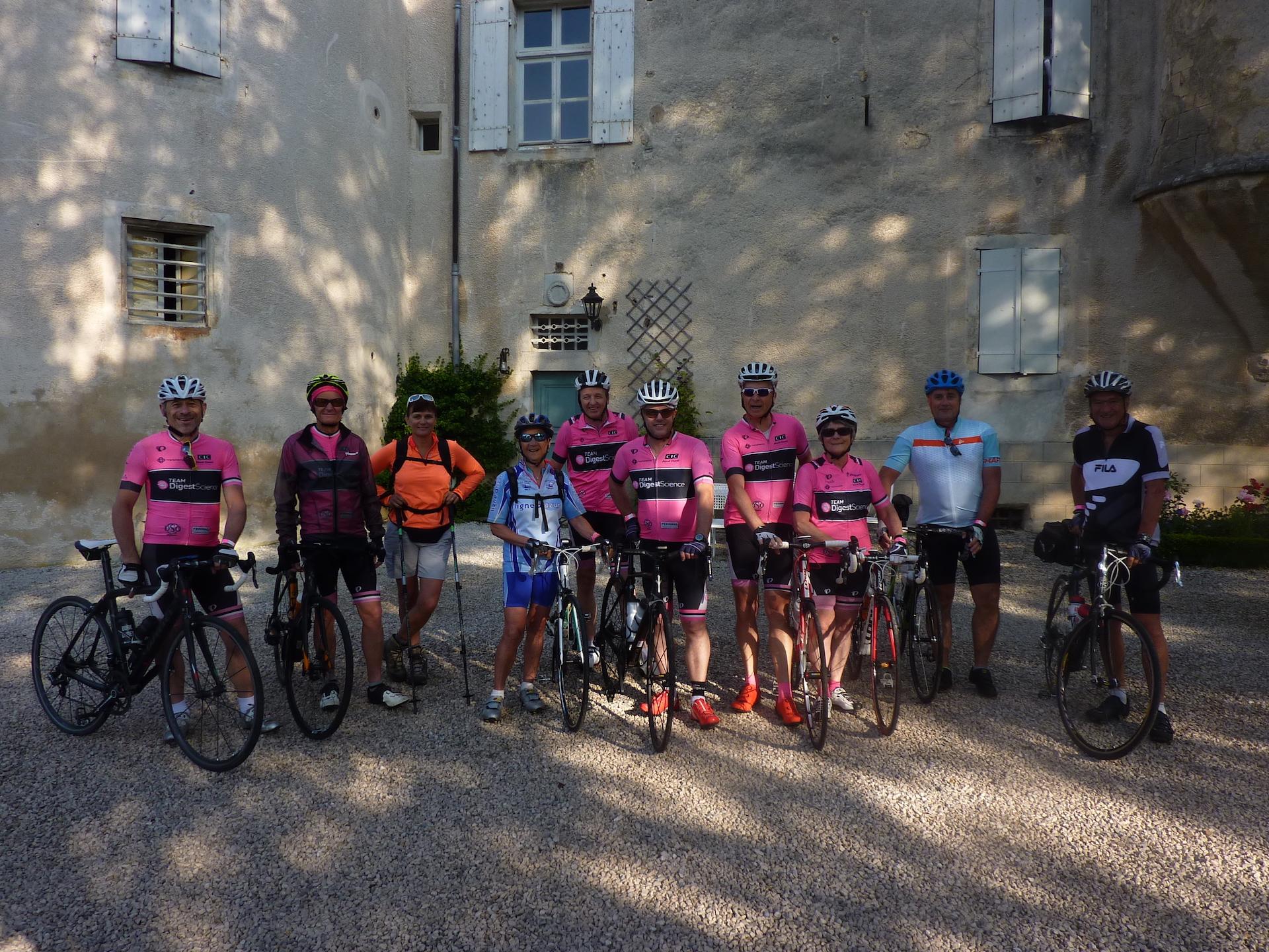 7-7-19 Rando 4 Châteaux